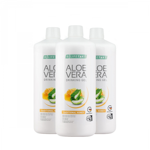 Aloe vera Honing set
