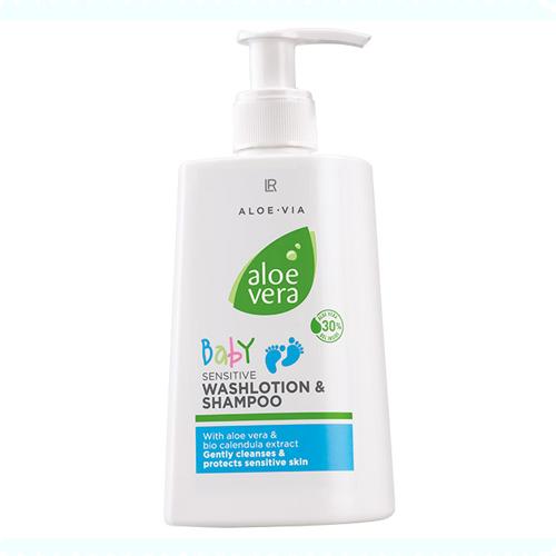 baby reinigingslotion en shampoo