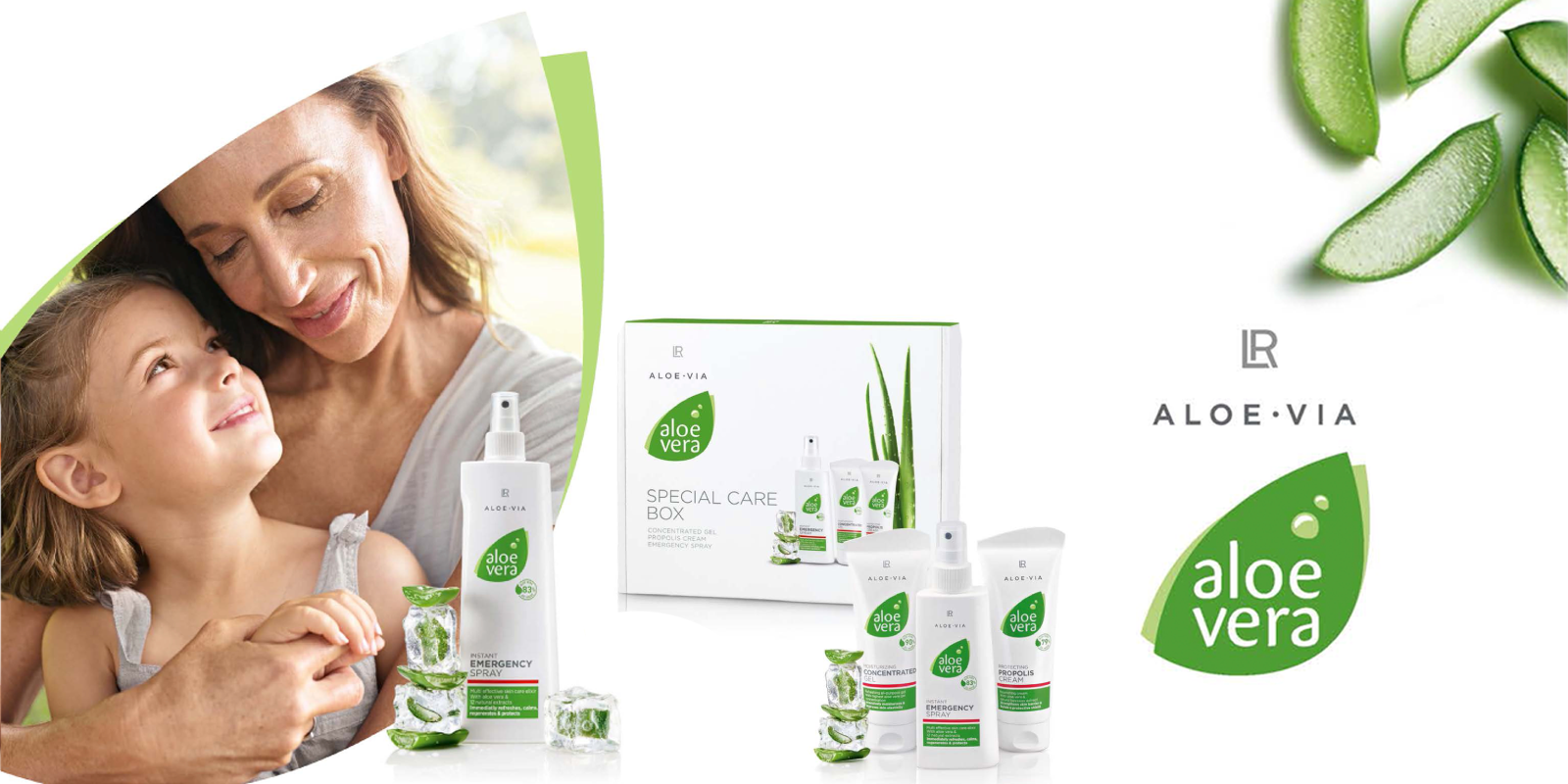 LR ALOE VIA Special care producten