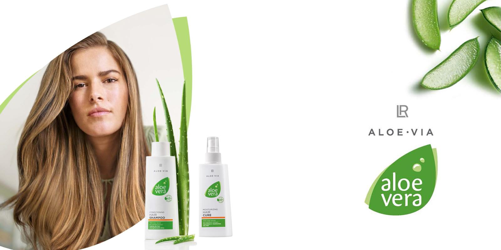 Haarverzorging met Aloe Vera Gel
