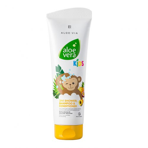 Douche en shampoo voor kinderen