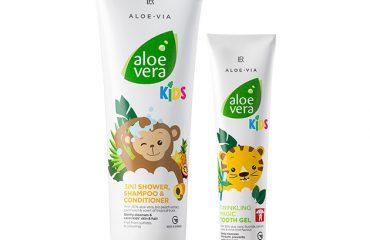 Aloe vera kids set