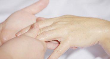 Hand verzorging bij droge huid