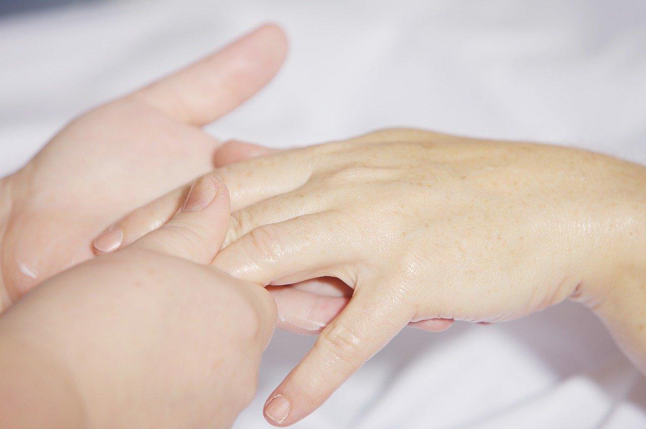 droge huid handen